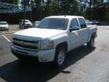 2011 White Diamond Tricoat Chevrolet Silverado 1500 LT Crew Cab 4x4 #52598762