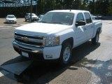 2011 Summit White Chevrolet Silverado 1500 LT Crew Cab 4x4 #52598763