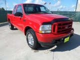 2003 Red Clearcoat Ford F250 Super Duty XLT SuperCab #52598437