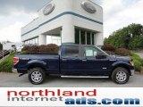 2011 Dark Blue Pearl Metallic Ford F150 XLT SuperCrew 4x4 #52658564