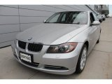 2008 Titanium Silver Metallic BMW 3 Series 335xi Sedan #52658569