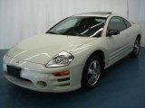 2003 Dover White Pearl Mitsubishi Eclipse GS Coupe #5260254