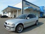 2001 Titanium Silver Metallic BMW 3 Series 325xi Sedan #52658769