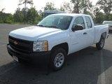 2011 Summit White Chevrolet Silverado 1500 Extended Cab #52679319