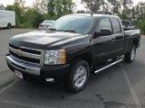 2011 Black Chevrolet Silverado 1500 LT Extended Cab #52679322