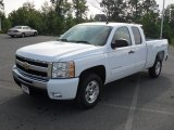 2011 Summit White Chevrolet Silverado 1500 LT Extended Cab #52679325