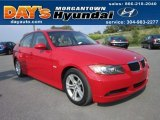 2008 Crimson Red BMW 3 Series 328xi Sedan #52679387