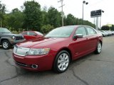 2008 Vivid Red Metallic Lincoln MKZ Sedan #52687873