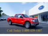 2011 Race Red Ford F150 XLT SuperCab 4x4 #52687881