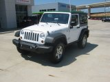 2011 Bright White Jeep Wrangler Rubicon 4x4 #52688113