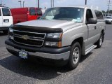 2006 Silver Birch Metallic Chevrolet Silverado 1500 LS Regular Cab #52687783
