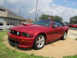 2008 Ford Mustang Dark Candy Apple Red