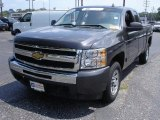 2010 Taupe Gray Metallic Chevrolet Silverado 1500 LS Extended Cab #52687788
