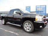 2011 Black Chevrolet Silverado 1500 LT Extended Cab 4x4 #52687903