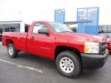 2011 Victory Red Chevrolet Silverado 1500 Regular Cab 4x4 #52687906