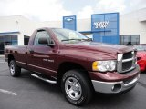 2003 Dark Garnet Red Pearl Dodge Ram 1500 SLT Regular Cab 4x4 #52687910
