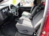 2003 Dodge Ram 1500 SLT Regular Cab 4x4 Dark Slate Gray Interior