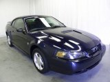 2002 True Blue Metallic Ford Mustang V6 Coupe #52688149