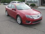 2010 Sangria Red Metallic Ford Fusion SEL V6 #52688045