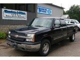 2003 Black Chevrolet Silverado 1500 LS Extended Cab 4x4 #52687953