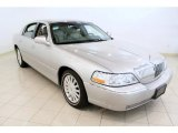 Silver Birch Metallic Lincoln Town Car in 2003