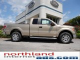 2011 Pale Adobe Metallic Ford F150 XLT SuperCab 4x4 #52724525