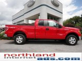 2011 Race Red Ford F150 XLT SuperCab 4x4 #52724526