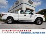 2011 Oxford White Ford F150 XLT SuperCab 4x4 #52724528