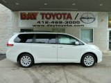 2011 Blizzard White Pearl Toyota Sienna Limited AWD #52724536