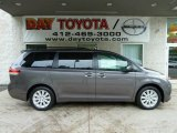 2011 Predawn Gray Mica Toyota Sienna Limited AWD #52724537