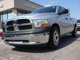 2010 Bright Silver Metallic Dodge Ram 1500 ST Quad Cab #52724547