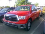 2010 Radiant Red Toyota Tundra Double Cab 4x4 #52724331