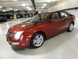 2008 Redfire Metallic Ford Fusion SEL #52724809