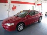 2002 San Marino Red Honda Accord EX V6 Coupe #52724352