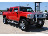Victory Red Hummer H3 in 2009