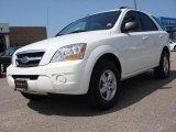 2009 Clear White Kia Sorento LX #52724570