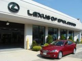 2008 Matador Red Mica Lexus IS 250 AWD #52724815