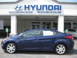 2012 Indigo Night Blue Hyundai Elantra Limited #52724586