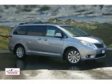 2011 Silver Sky Metallic Toyota Sienna XLE AWD #52724389