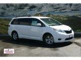 2011 Super White Toyota Sienna LE #52724394