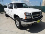 2005 Summit White Chevrolet Silverado 1500 Z71 Extended Cab 4x4 #52724838