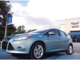2012 Frosted Glass Metallic Ford Focus SEL 5-Door #52724654