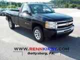 2011 Black Chevrolet Silverado 1500 LS Regular Cab #52725139