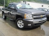 2010 Taupe Gray Metallic Chevrolet Silverado 1500 LT Extended Cab 4x4 #52724468