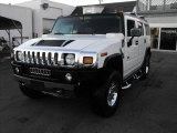 2003 White Hummer H2 SUV #52724479