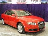 2008 Brilliant Red Audi A4 2.0T Special Edition quattro Sedan #52724907