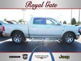 2010 Stone White Dodge Ram 1500 Laramie Crew Cab 4x4 #52724513
