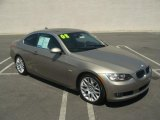 2008 Platinum Bronze Metallic BMW 3 Series 328i Coupe #52724516