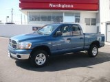 2006 Atlantic Blue Pearl Dodge Ram 1500 SLT Quad Cab 4x4 #5248553