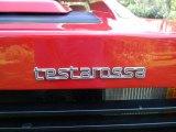 Ferrari Testarossa Badges and Logos